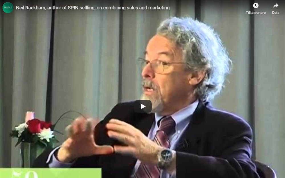 Niel Rackham – Author of SPIN selling